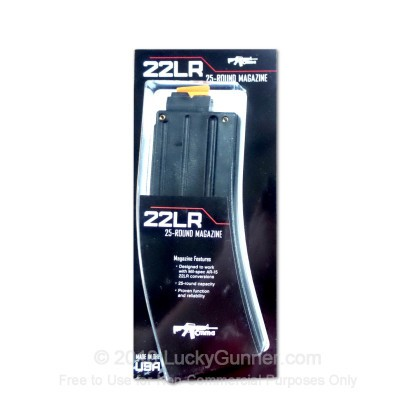 Large image of CMMG 22 LR ARC22 Magazine for AR15 Conversion Kits For Sale - 25 Rounds