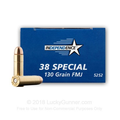 Image 1 of Independence .38 Special Ammo