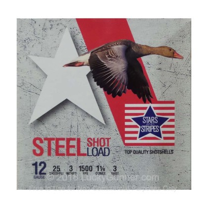 Image 1 of Stars & Stripes 12 Gauge Ammo