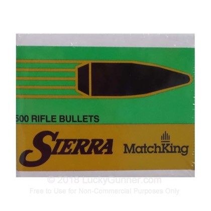 Large image of Bulk .308 Bullets For Sale - 180 Grain HPBT Bullets in Stock by Sierra MatchKing - 500 Bullets