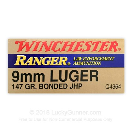 Image 2 of Winchester 9mm Luger (9x19) Ammo