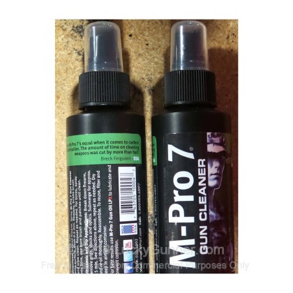 Large image of M-Pro 7 Gun Cleaner Solvent / Conditioner for Sale - 4 oz. Spray Bottle