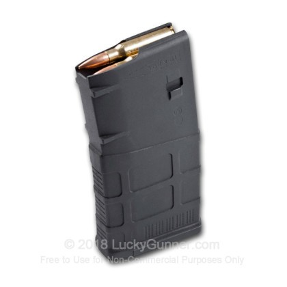 Large image of Magpul Gen 3 AR-10 20rd - 7.62x51mm - Black - PMAG Standard Magazine For Sale