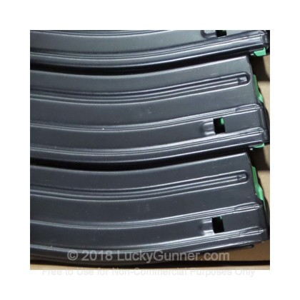 Large image of Cheap 30 Round AR-15 Magazines For Sale - 5.56/.223 D&H Black Aluminum Mags in Stock