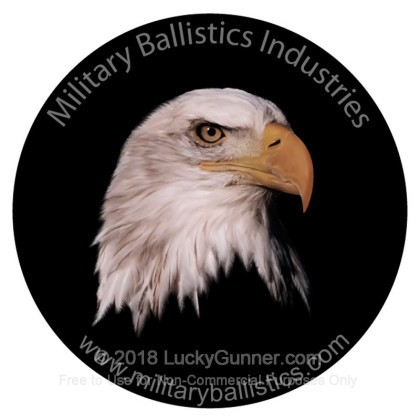 Image 1 of Military Ballistics Industries .40 S&W (Smith & Wesson) Ammo