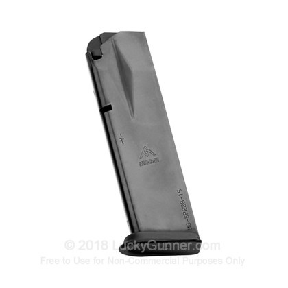 Large image of Mec-Gar Sig Sauer P228 9mm 15 Round Magazine For Sale - 15 Rounds