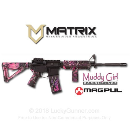 Large image of Magpul - Matrix Diversified Industries Rifle Kit - AR Furniture - Muddy Girl Camo