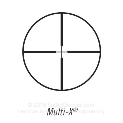 Large image of Rifle Scope For Sale - 4-12x - 40mm 714124 - Multi-X Deer Hunting - Black Matte Bushnell Optics Rifle Scopes in Stock