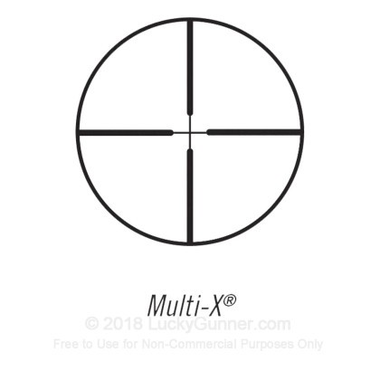 Large image of Premium Rifle Scope For Sale - 3-9x - 40mm E3940 - Multi-X Reticle - Black Matte Bushnell Elite Rifle Scopes in Stock