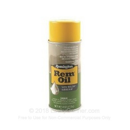 Large image of Remington Rem Oil for Sale - 4 oz aerosol can - Remington Gun Oil