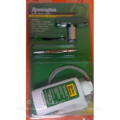 Large image of Remington 19936 22/223 Cleaning Kit for Sale  - Remington Mini Snap Cleaning Kits For Sale