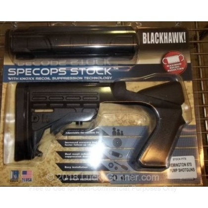 Large image of Blackhawk SpecOps Adjustable Shotgun Stock For Remington 870 Pump Shotguns For Sale