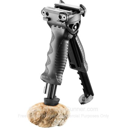 Large image of Fab Defense T-Pod Foregrip / Telescoping Bipod -  Black Rifle Foregrip / Bipod Combo