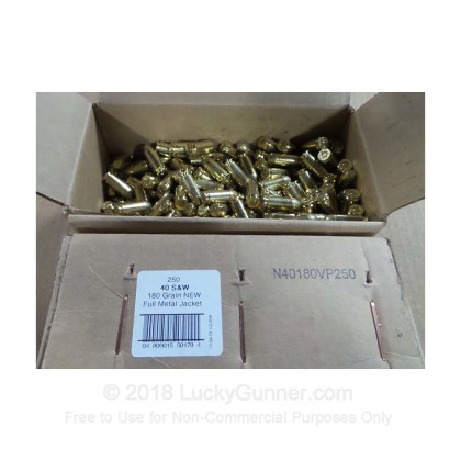 Image 1 of American Quality Ammunition .40 S&W (Smith & Wesson) Ammo