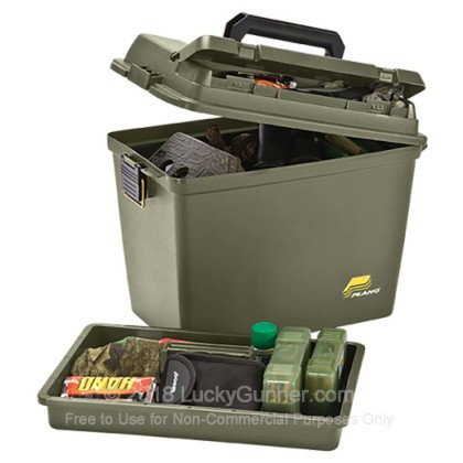 Large image of Cheap Ammo Can For Sale - Field/Ammo Box in Stock by Plano OD Green - 1