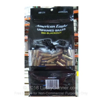 Large image of Bulk 300 AAC Blackout Casings For Sale - New Unprimed Brass Casings in Stock by Federal - 250