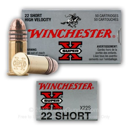 Image 4 of Winchester .22 Short Ammo
