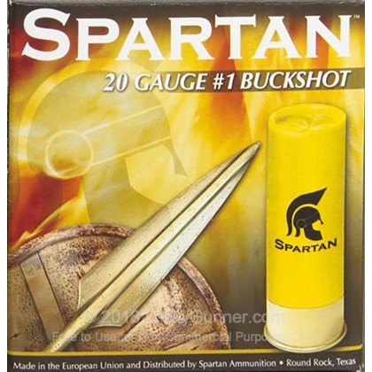 Image 1 of Spartan 20 Gauge Ammo