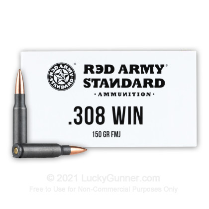 Image 1 of Red Army Standard .308 (7.62X51) Ammo
