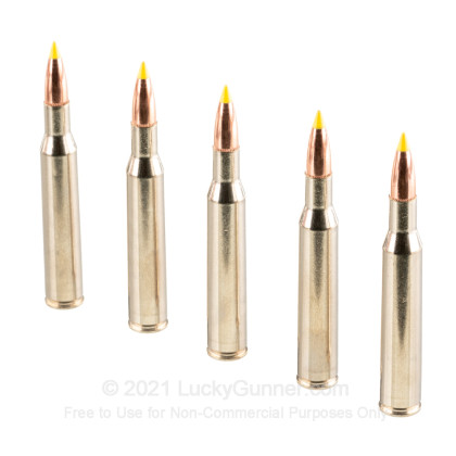 Large image of 270 Win Premium Rifle Ammo For Sale - 130 gr Nosler Ballistic Tip - Federal Premium Ammo Online - 20 Rounds