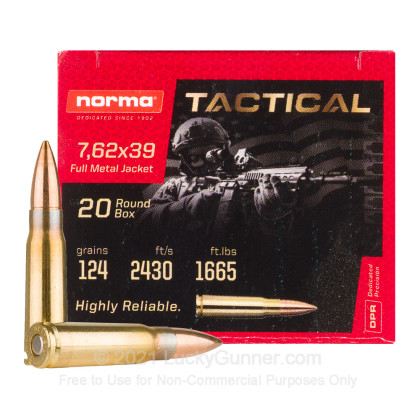 Image 2 of Norma 7.62X39 Ammo
