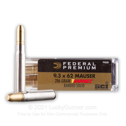 Image 1 of Federal 9.3x62 Mauser Ammo