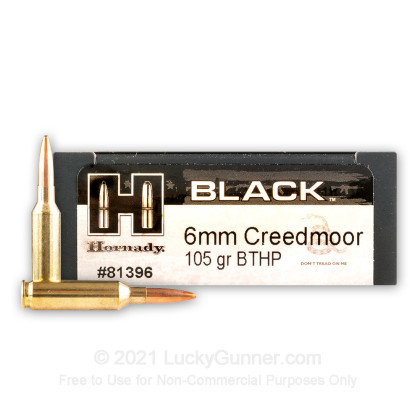 Image 1 of Hornady 6mm Creedmoor Ammo