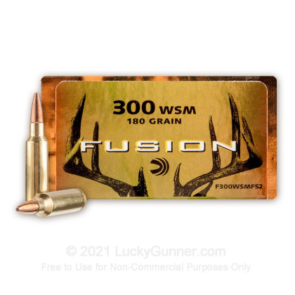 Image 1 of Federal 300 Winchester Short Magnum Ammo