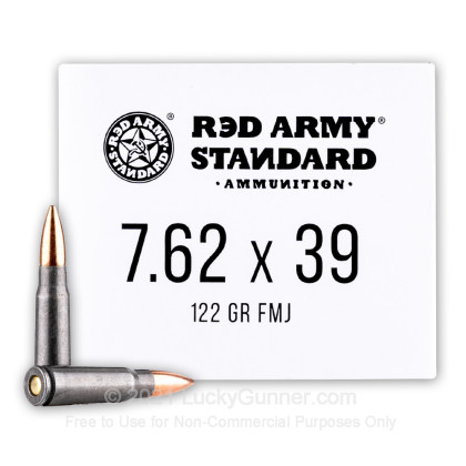 Image 2 of Red Army Standard 7.62X39 Ammo