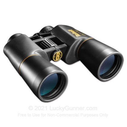 Large image of Bushnell Legacy WP Binoculars - 10x - 50mm - Waterproof - 120150 - Black - In Stock at Luckygunner.com