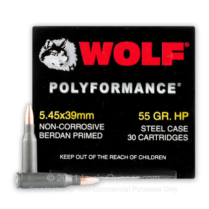 Image 2 of Wolf 5.45x39 Russian Ammo
