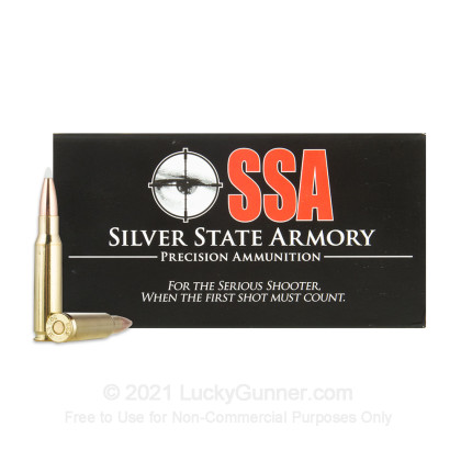 Image 2 of Silver State Armory .308 (7.62X51) Ammo