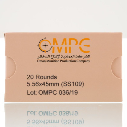 Image 3 of OMPC 5.56x45mm Ammo