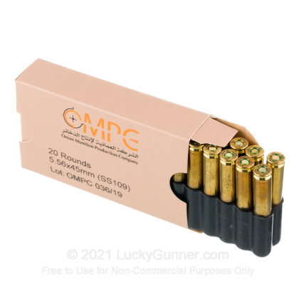 Image 4 of OMPC 5.56x45mm Ammo