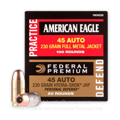 Image 2 of Federal .45 ACP (Auto) Ammo