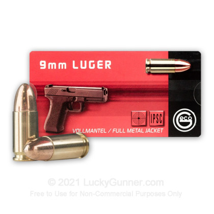 Image 3 of GECO 9mm Luger (9x19) Ammo