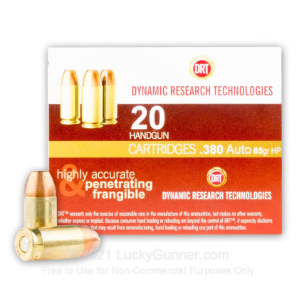 Image 2 of Dynamic Research Technologies .380 Auto (ACP) Ammo