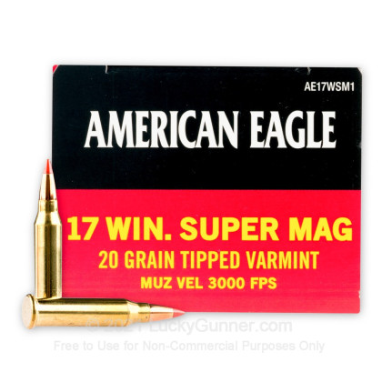 Image 1 of Federal .17 Win Super Mag (WSM) Ammo