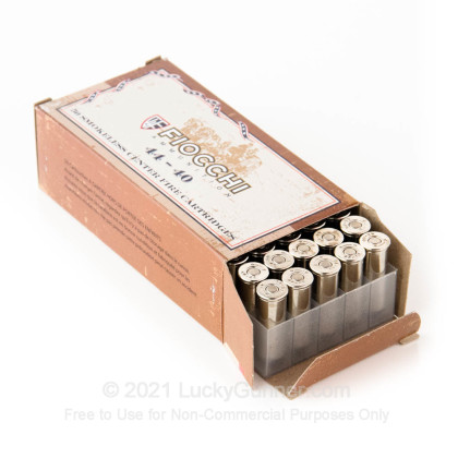 Large image of 44-40 Ammo - Fiocchi Cowboy Action 210gr LRN - 50 Rounds