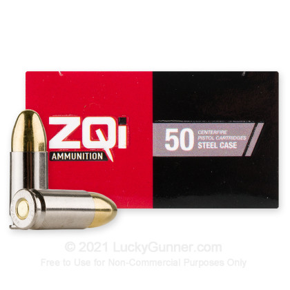 Image 2 of ZQI Ammunition 9mm Luger (9x19) Ammo