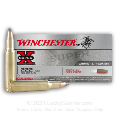 Image 2 of Winchester .222 Remington Ammo