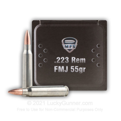 Image 3 of MFS .223 Remington Ammo