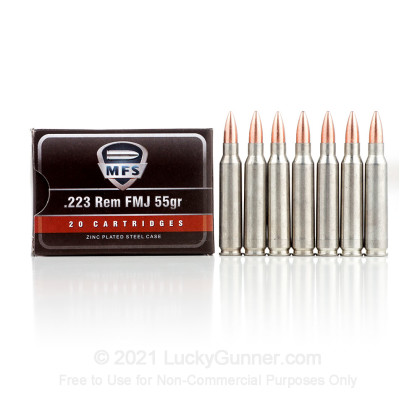 Image 5 of MFS .223 Remington Ammo