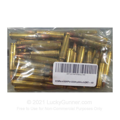 Image 1 of Dynamic Research Technologies .223 Remington Ammo