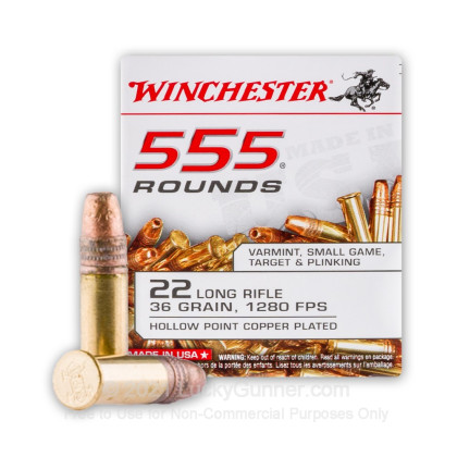 Image 2 of Winchester .22 Long Rifle (LR) Ammo