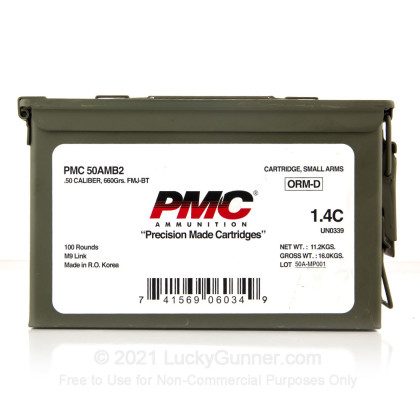 Image 1 of PMC .50 BMG Ammo