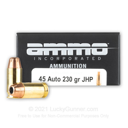 Image 1 of Ammo Incorporated .45 ACP (Auto) Ammo