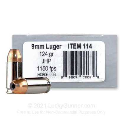 Image 1 of Underwood 9mm Luger (9x19) Ammo