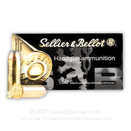 Image 2 of Sellier & Bellot .44 Magnum Ammo