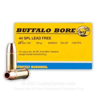 Image 1 of Buffalo Bore .44 Special Ammo